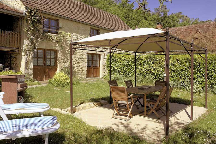 le mobilier de jardin et son barbecue